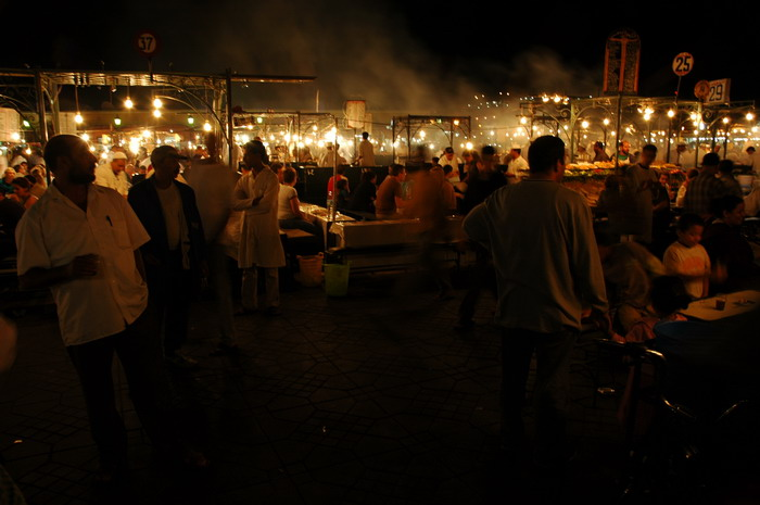 the place Djemaa el Fna - Marrakech Morocco