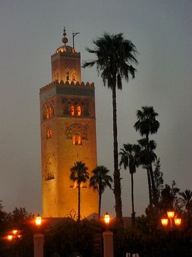 the koutoubia - Marrakech Morocco