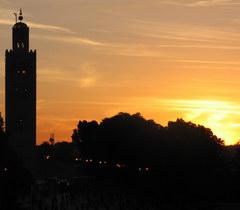 Marrakech photo Koutoubia
