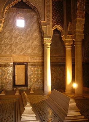 Photo Marrakech the Saadiens Tombs
