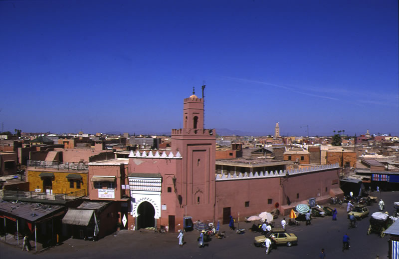 Marrakech panorama